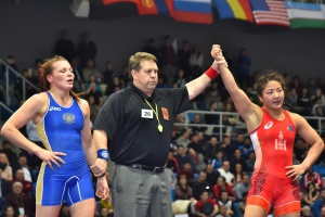 Yarygin tournament: the winners of the second day of the tournament (women)
